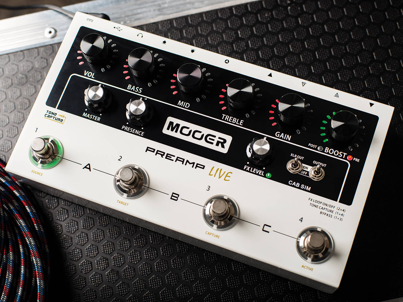 win one of three mooer preamp live pedals worth 329 all things guitar. Black Bedroom Furniture Sets. Home Design Ideas