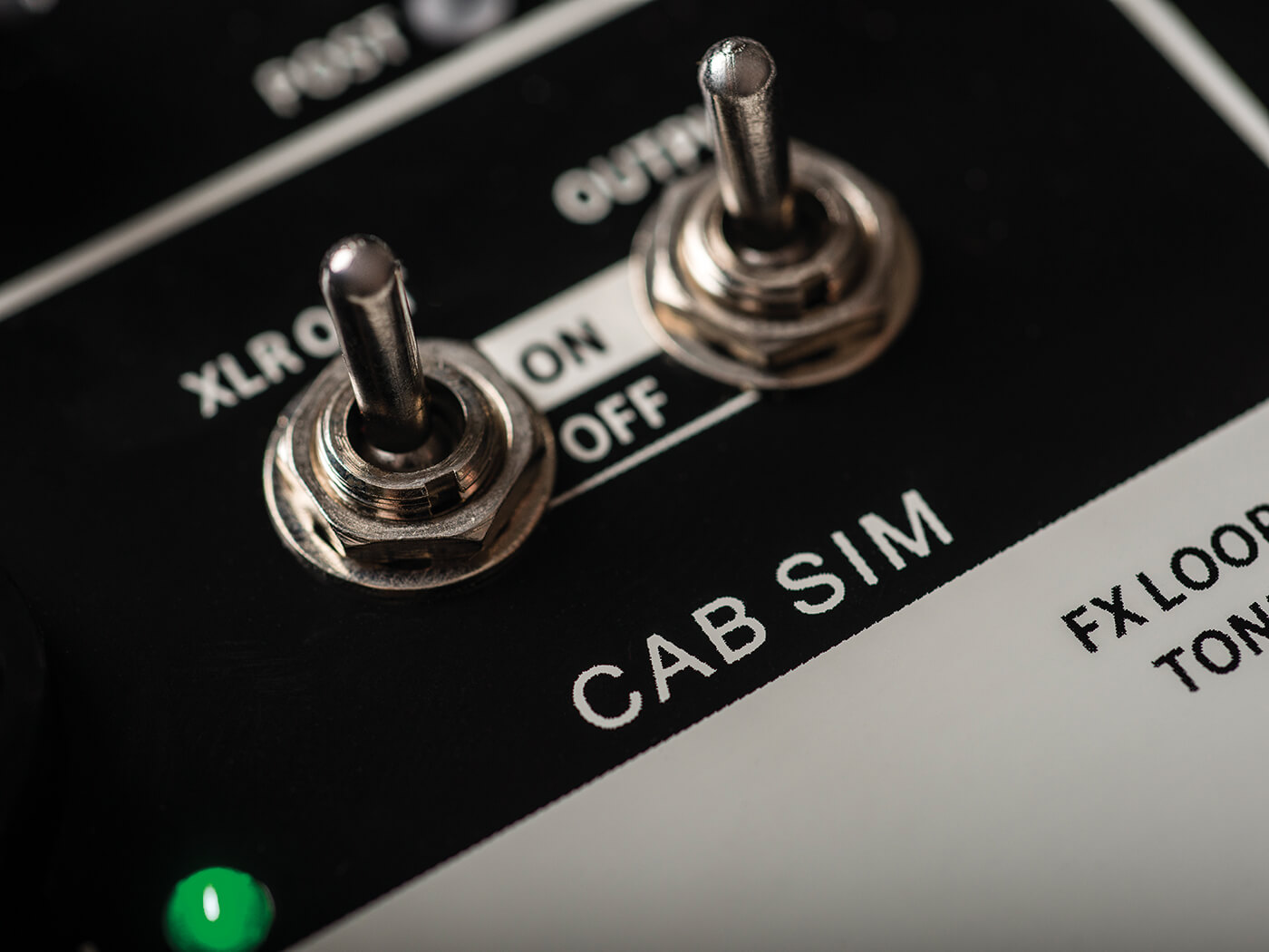 mooer preamp live cab sims