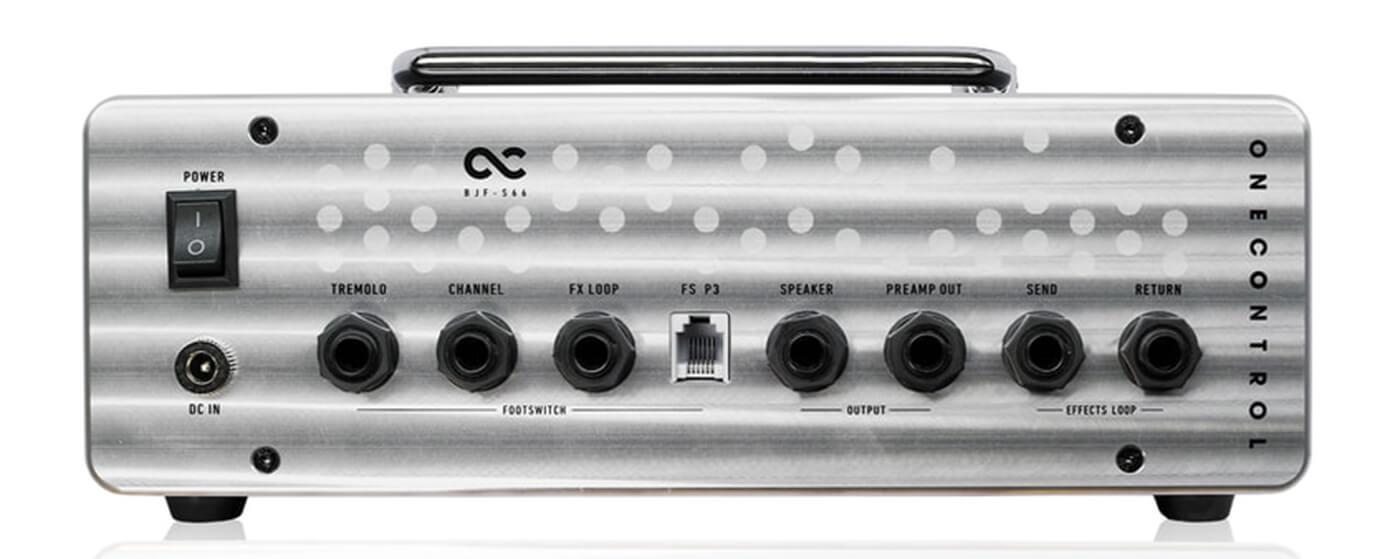One Control BJF-S66 Amp Head back
