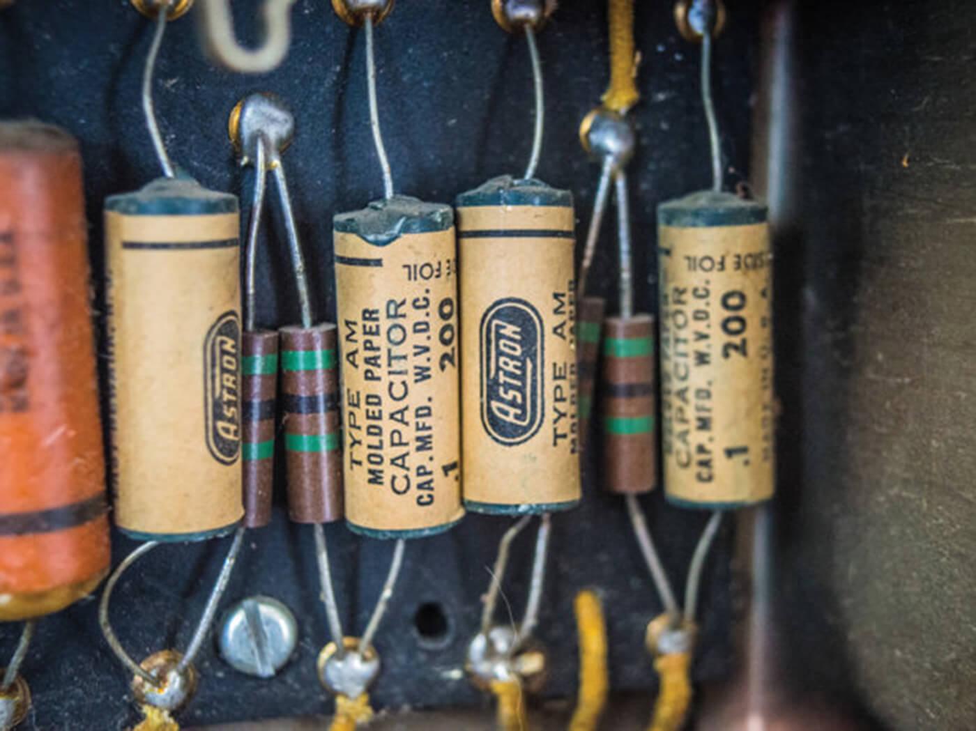 Original Astron Capacitors
