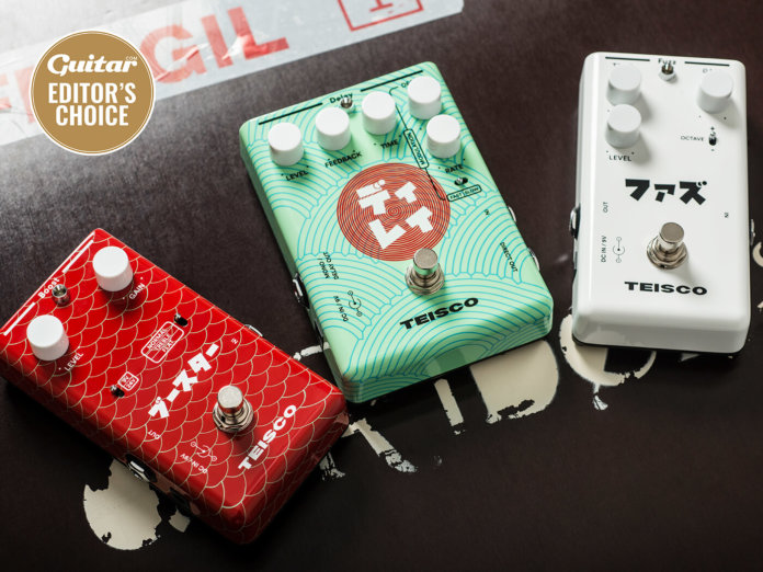 teisco boost fuzz delay pedals