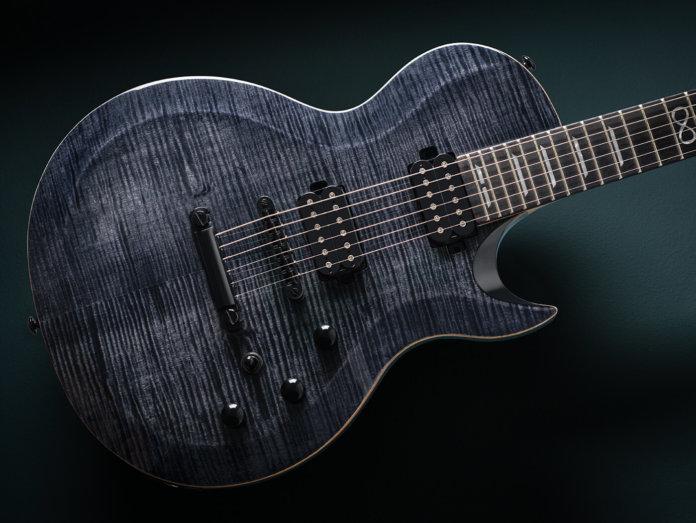Chapman Guitars V2 ML2 Modern Standard angled black background