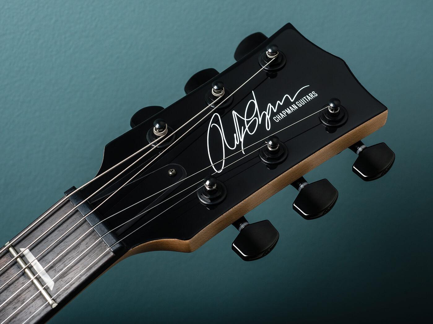 Chapman Guitars V2 ML2 Modern Standard headstock
