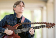 Todd Mosby with Imrat Guitar