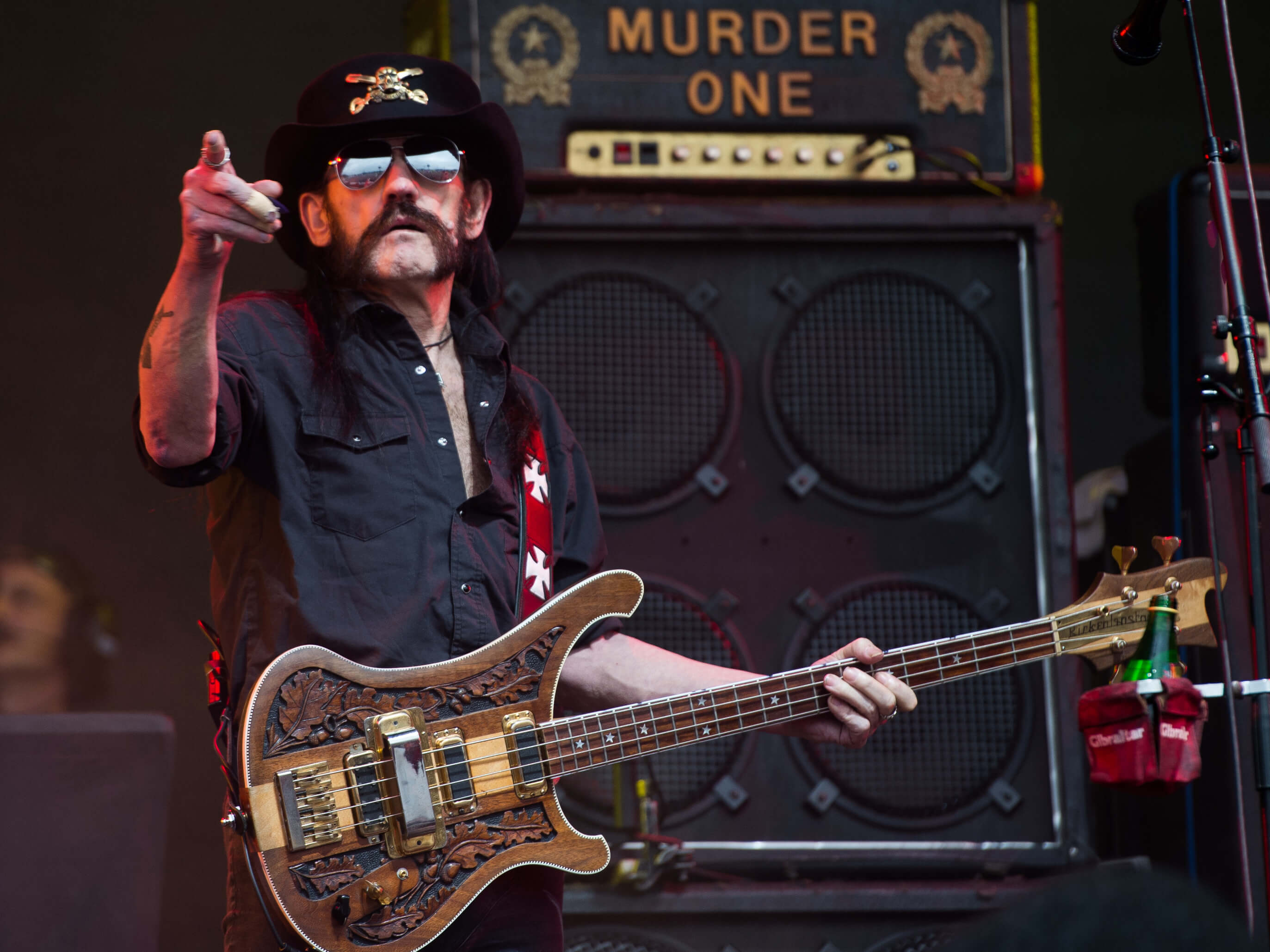 Lemmy at Glasto