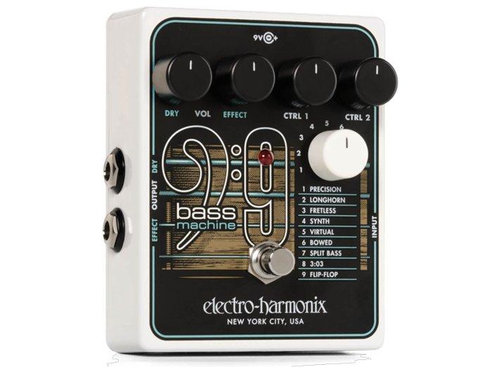 EHX Bass9 Bass machine