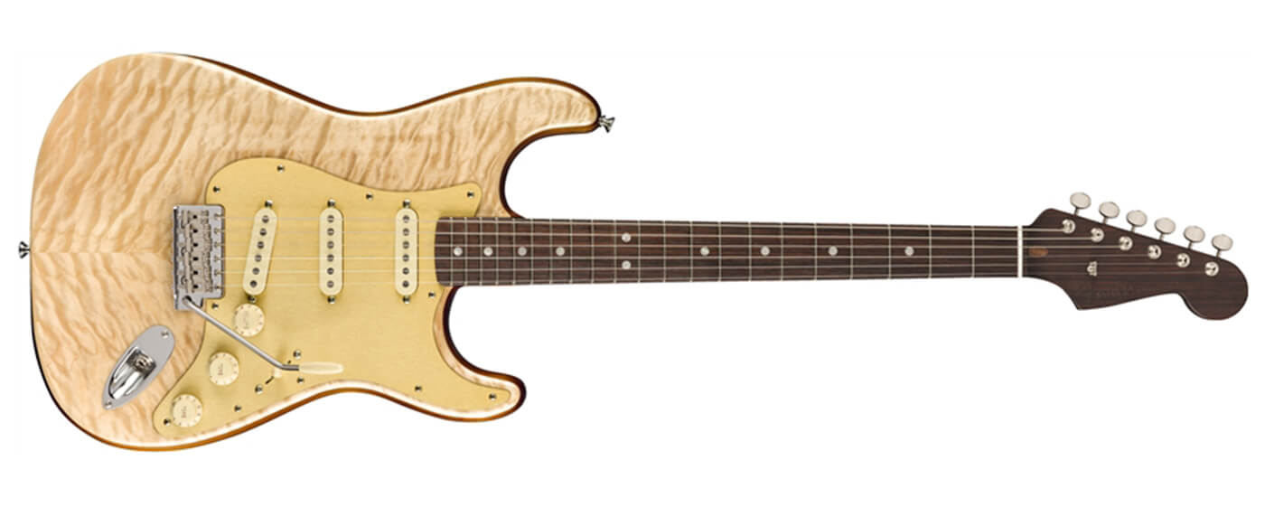 Fender Rarities Quilt Maple Top Strat landscape