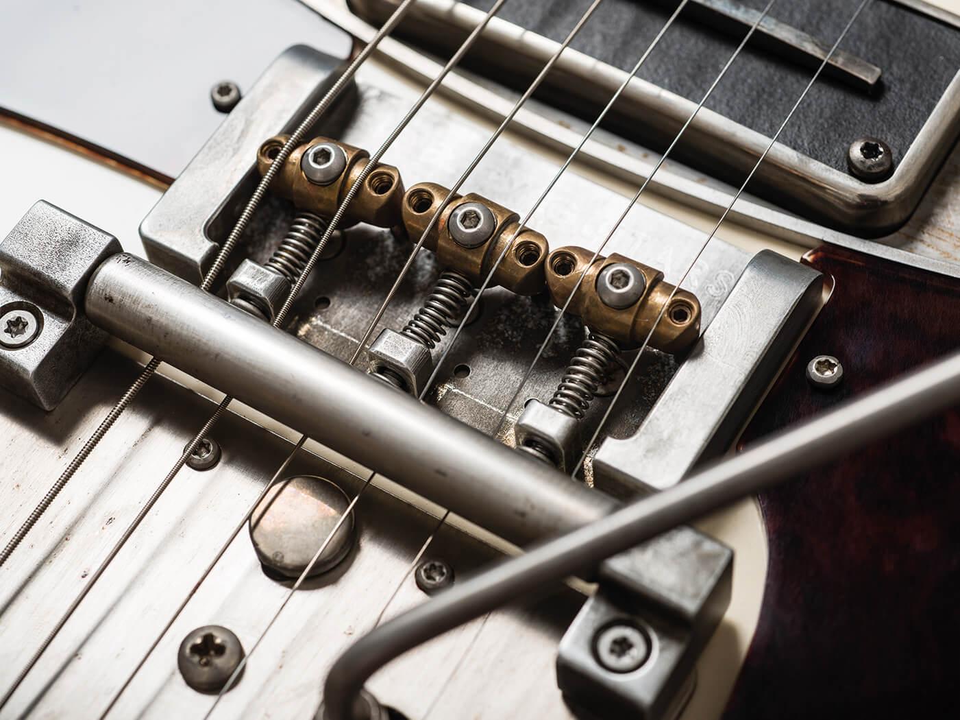 Fidelity Guitars Stellarosa bridge
