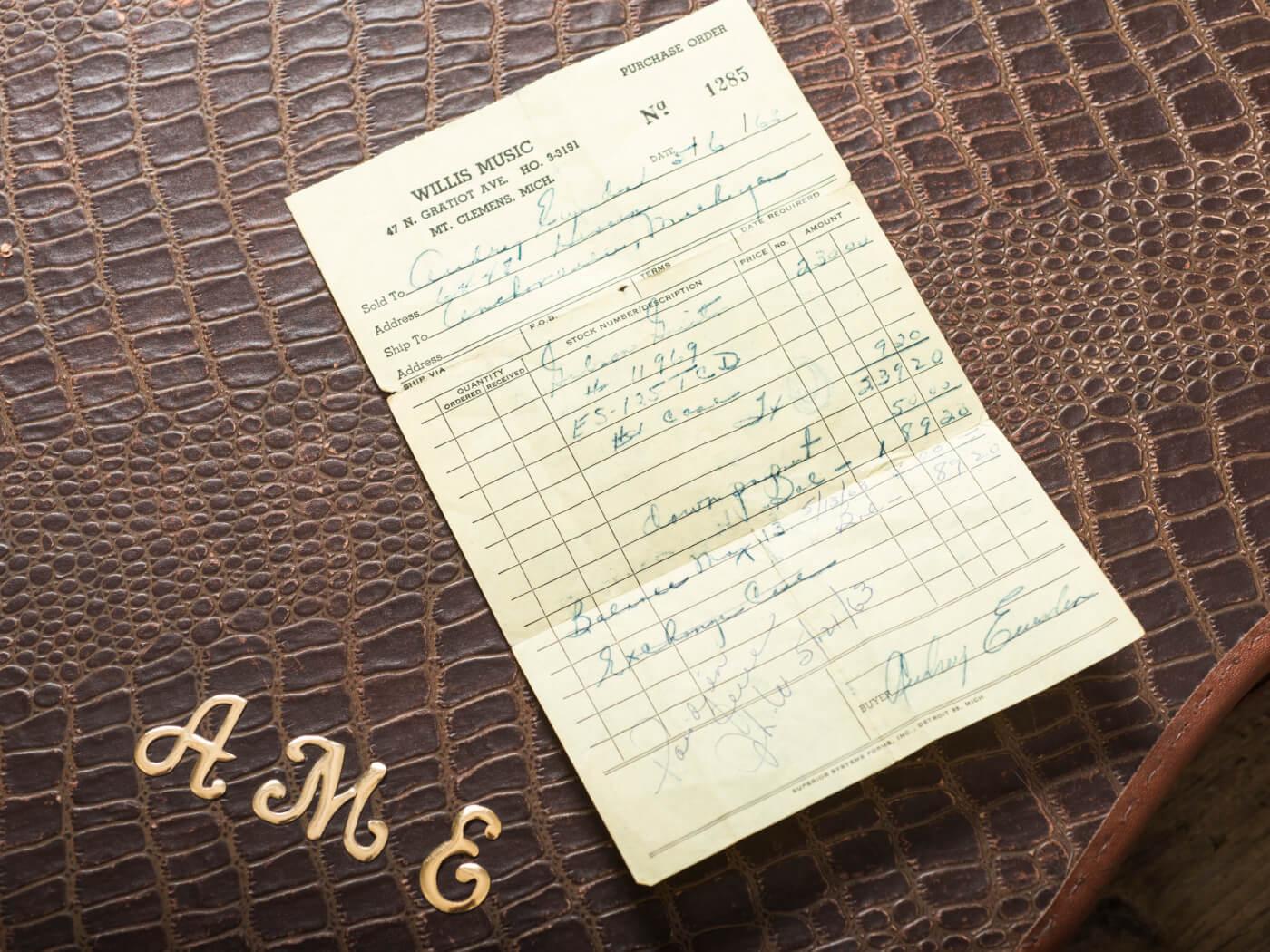 vintage gibson 1963 es-125tcd
