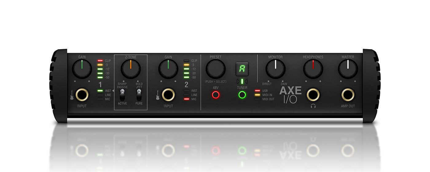 IK Multimedia AXE I/O stock front shot