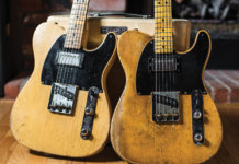 JOE BONAMASSA'S 1951 NOCASTER AND 1952 TELECASTER
