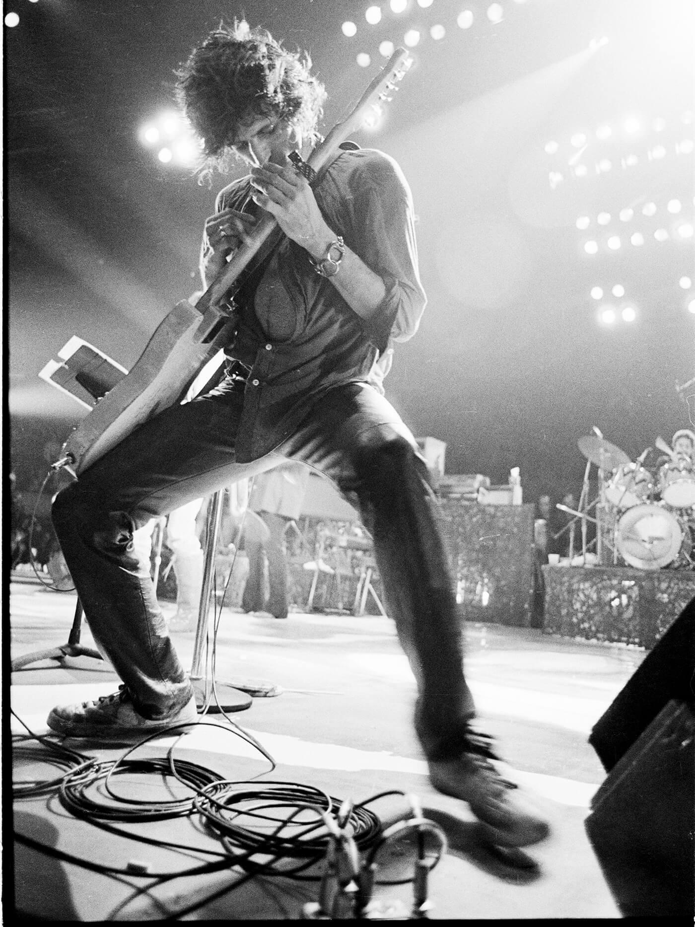 keith richards live guitar