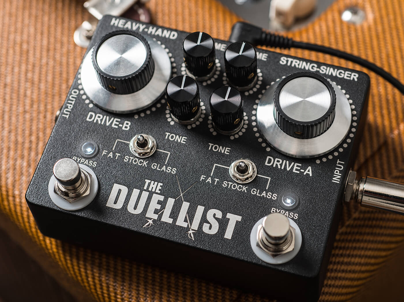 king tone the duellist overdrive