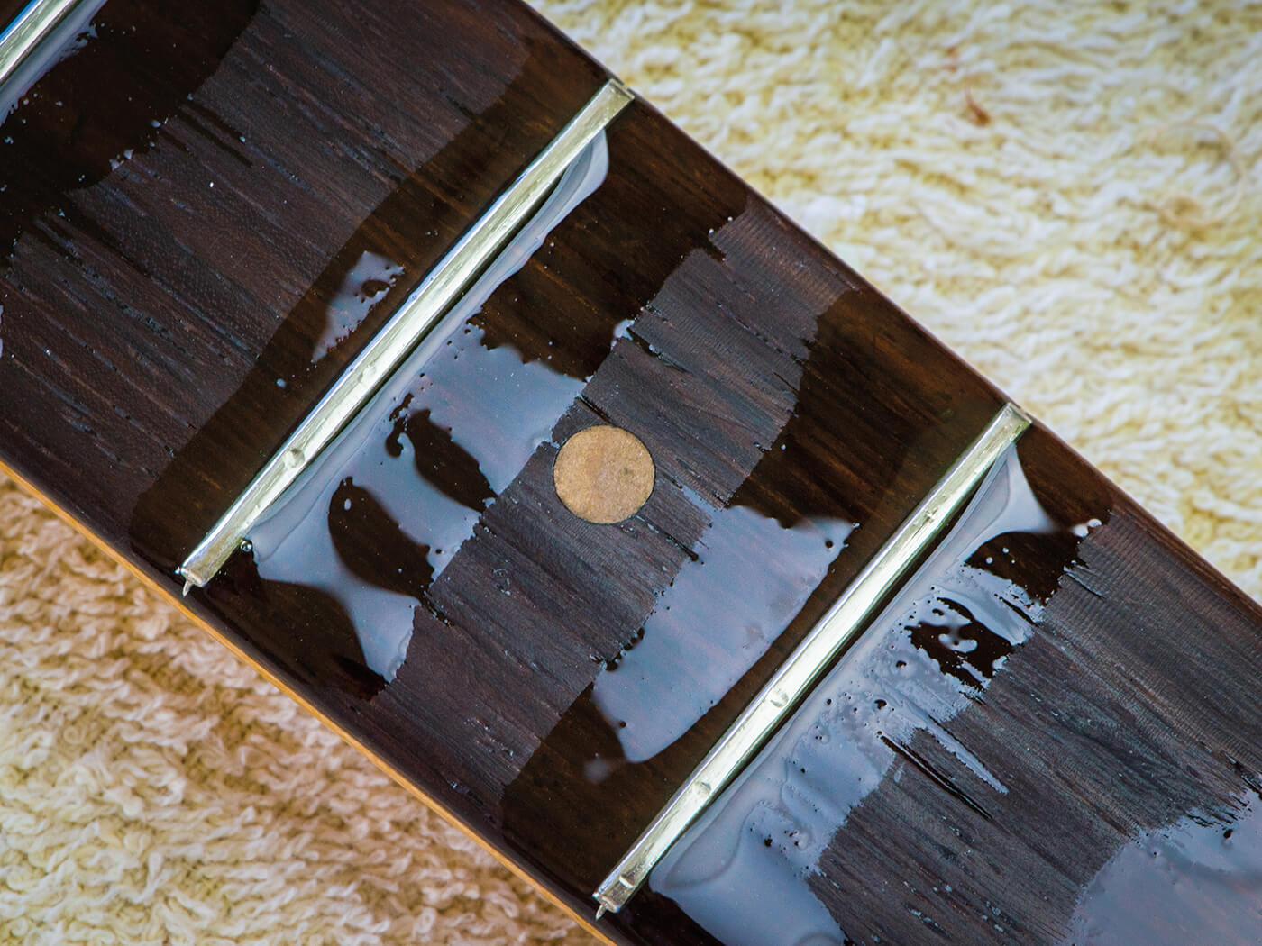 oiled strat fingerboard