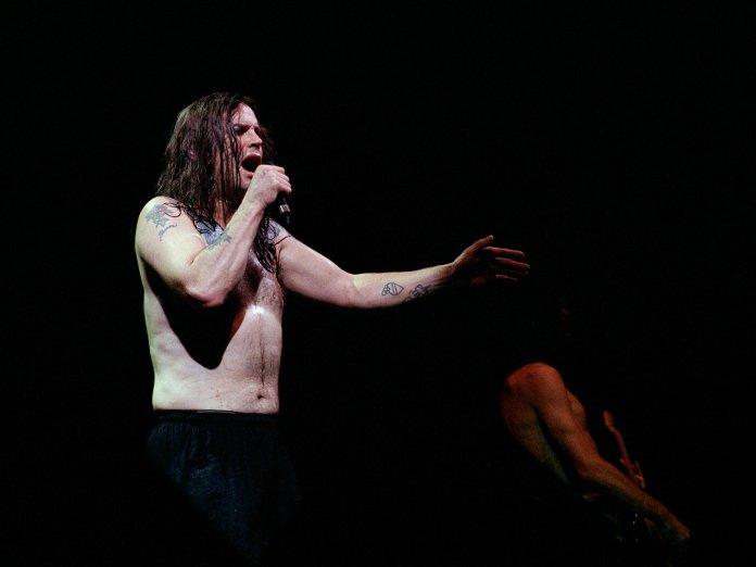 Ozzy Osbourne live shutterstock