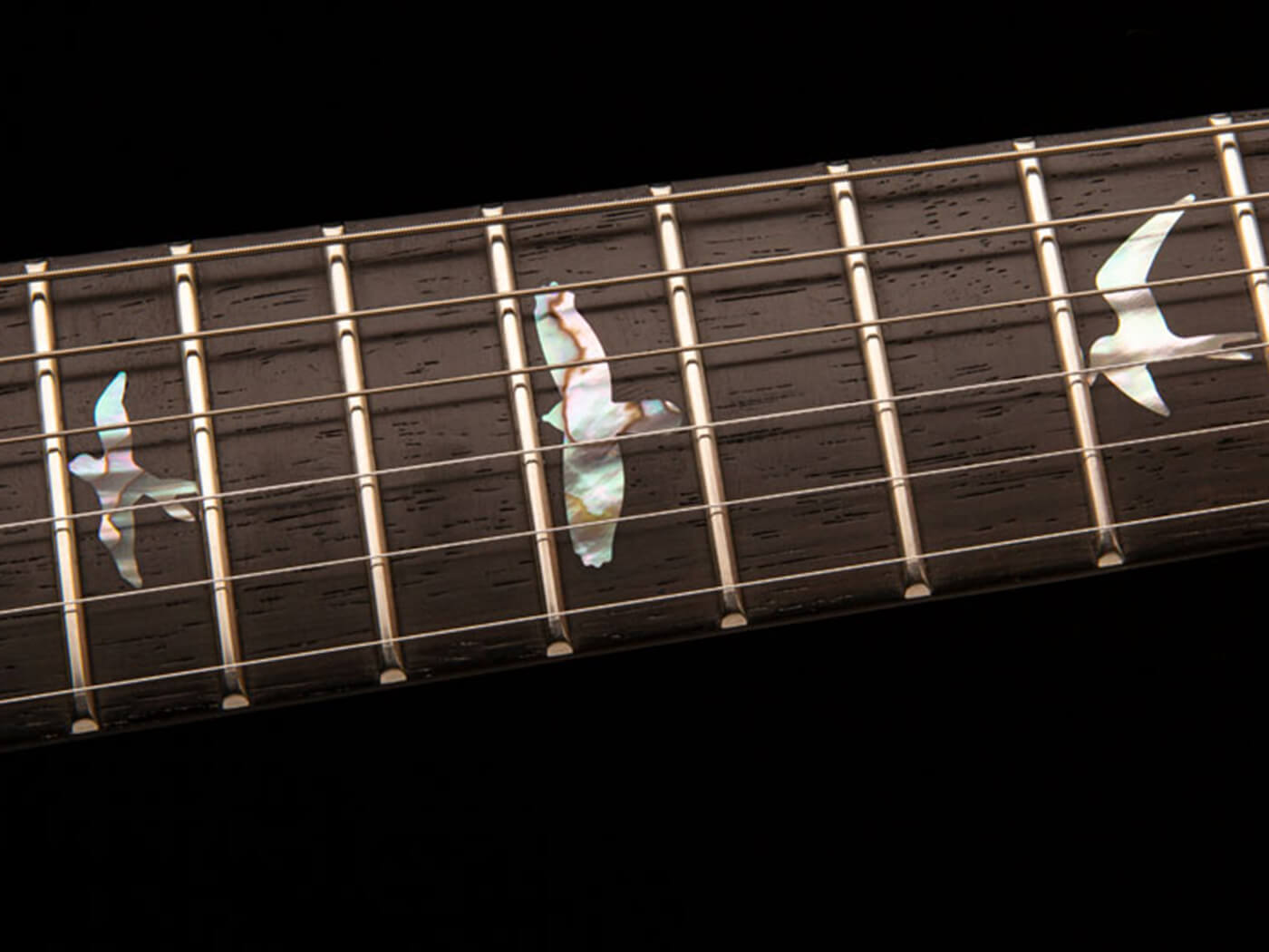 PRS Private Stock Crossroads Santana pre-factory bird inlay