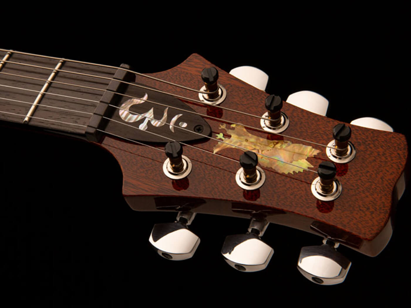 PRS Private Stock Crossroads Santana pre-factory headstock