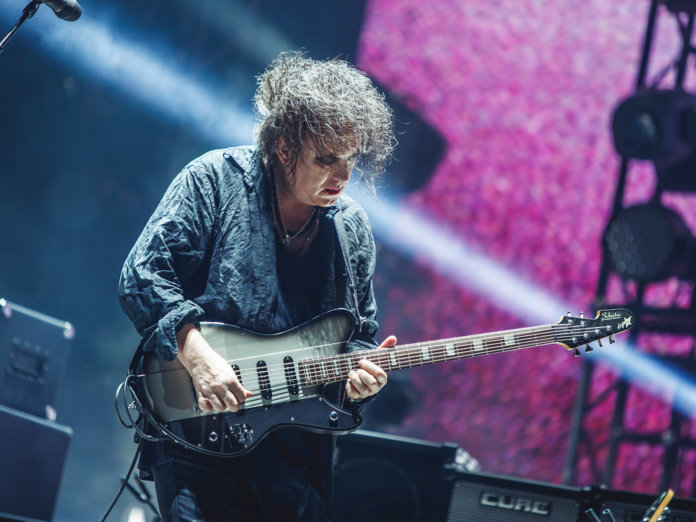 the cure robert smith schecter ultracure