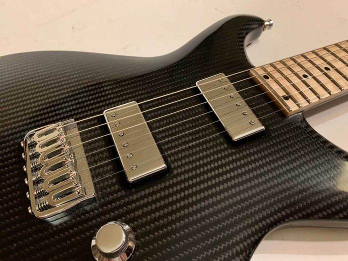 Rubato Guitars Lassie close up