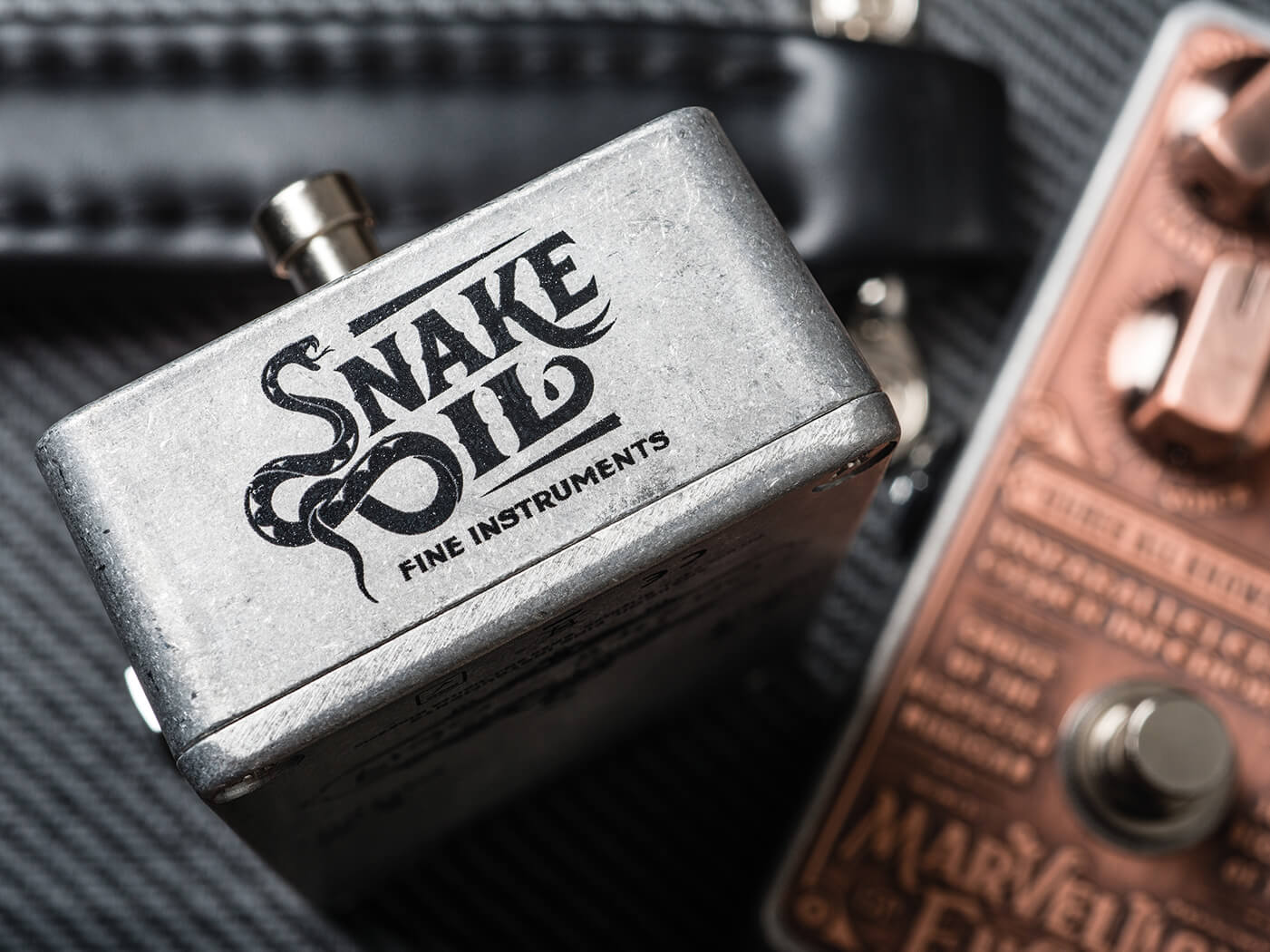 Snake Oil Logo on The Very Thing