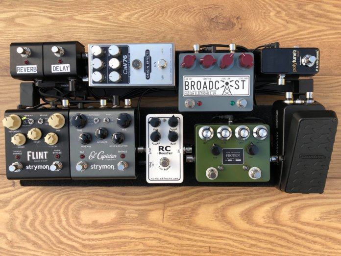 Coombs Pedalboard