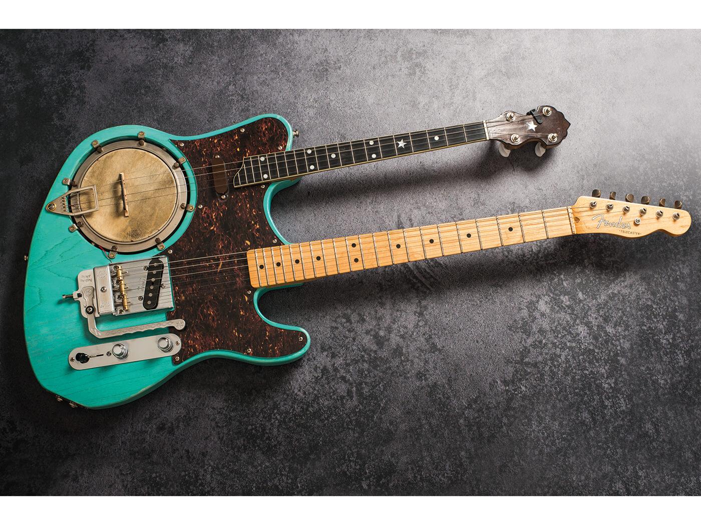 diy workshop how to create a double neck banjo guitar  mandolin double neck telecaster wiring diagrams #13