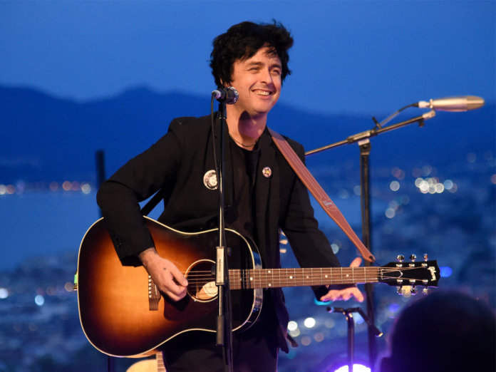 Billie Joe Armstrong Green Day Father of All new album Hella Mega Tour