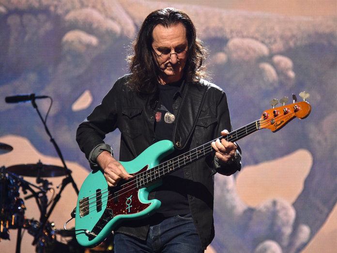 Geddy Lee Rush 2017 Rock and Roll Hall of Fame induction ceremony Yes