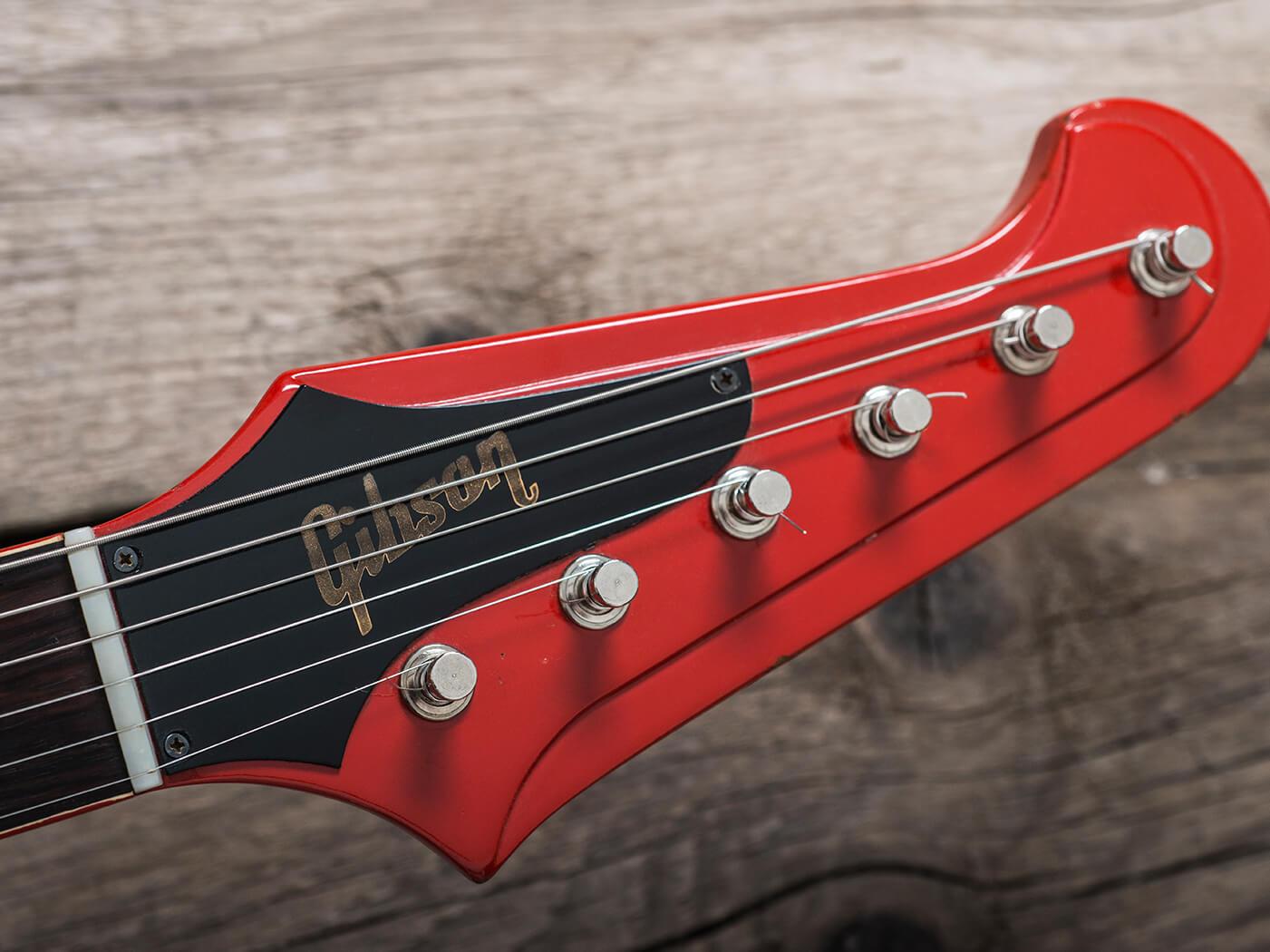 Gibson 1964 Firebird III red headstock