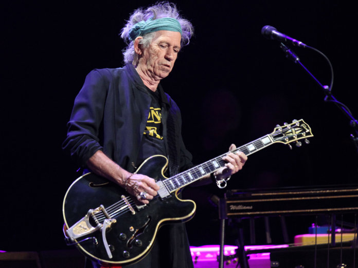Keith Richards Live Shutterstock