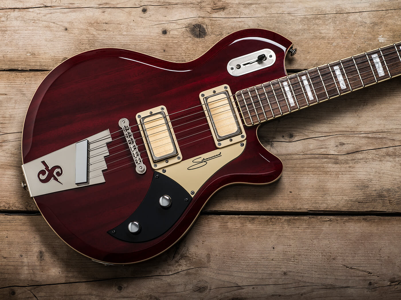 Review: Supro 1296 Silverwood - Guitar com | All Things Guitar