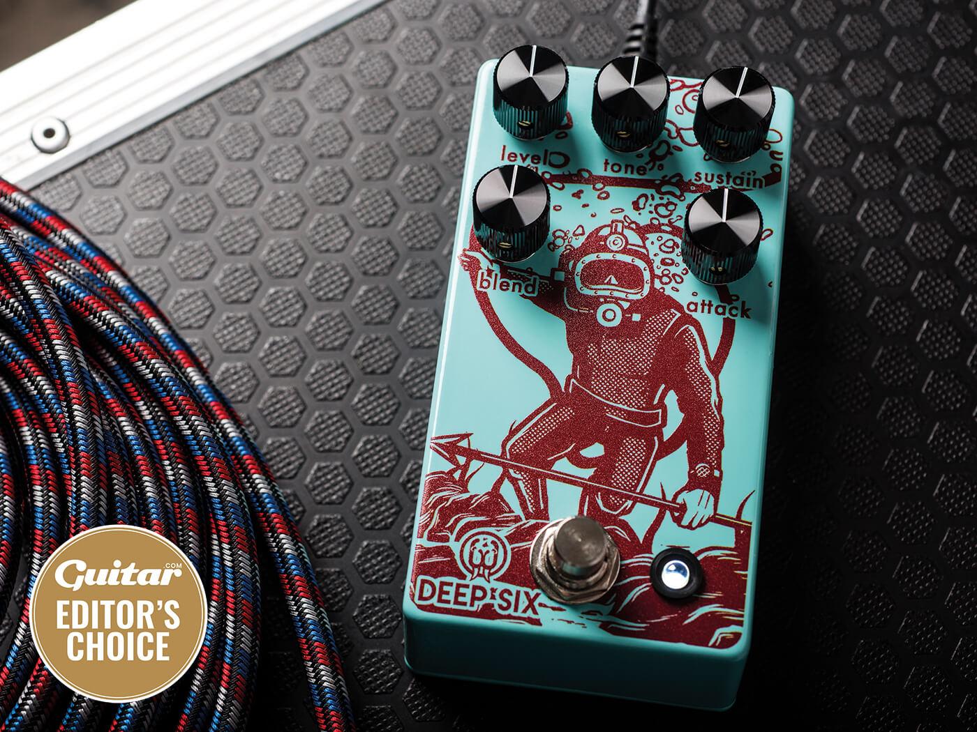 review walrus audio deep six compressor v3 all things guitar. Black Bedroom Furniture Sets. Home Design Ideas