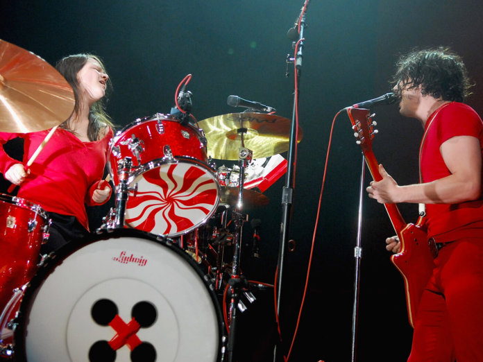 The White Stripes Jack White Meg White Madison Square Garden New York City 2007