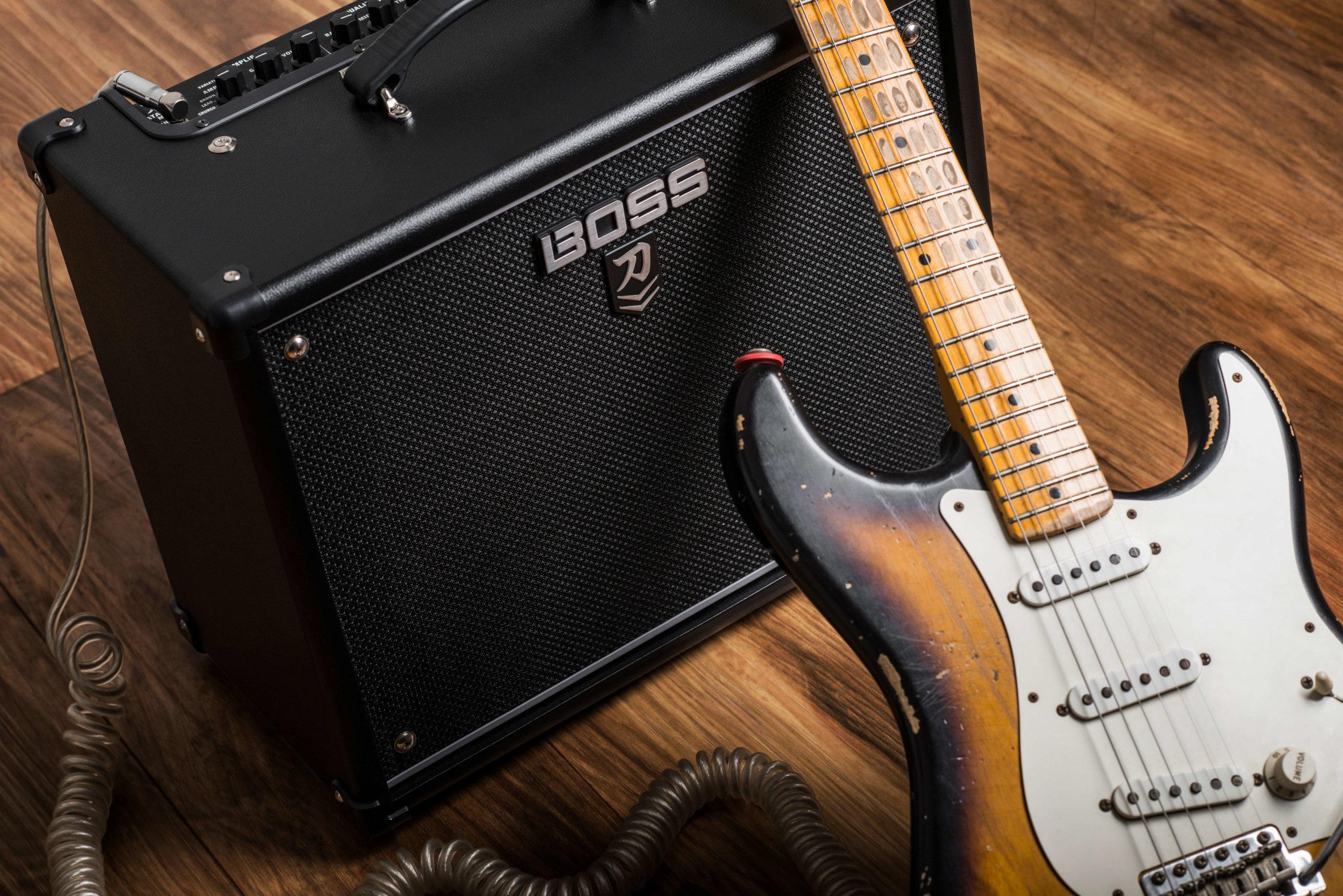 BOSS WAZA Speaker The Ultimate Rock Sound 100 watt Power Capacity Custom-Designed 12 Inch Guitar Speaker