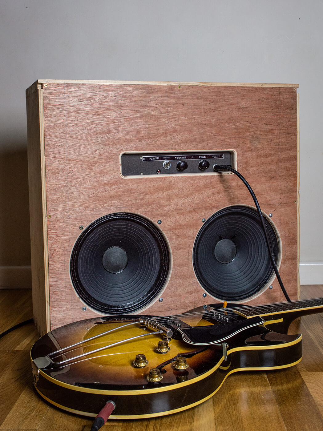diy workshop how to build a speaker cabinet part one all things guitar. Black Bedroom Furniture Sets. Home Design Ideas