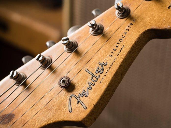 Gary Gand 1954 Fender Stratocaster (Headstock)