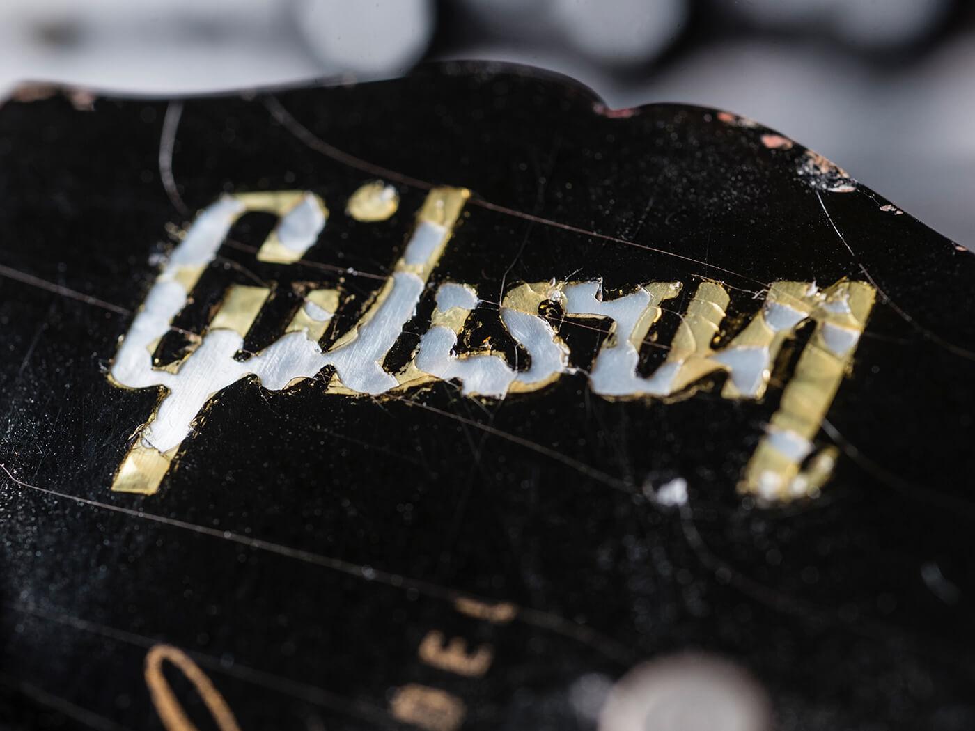 Gary Gand 1960 Gibson Les Paul Standard (Headstock)