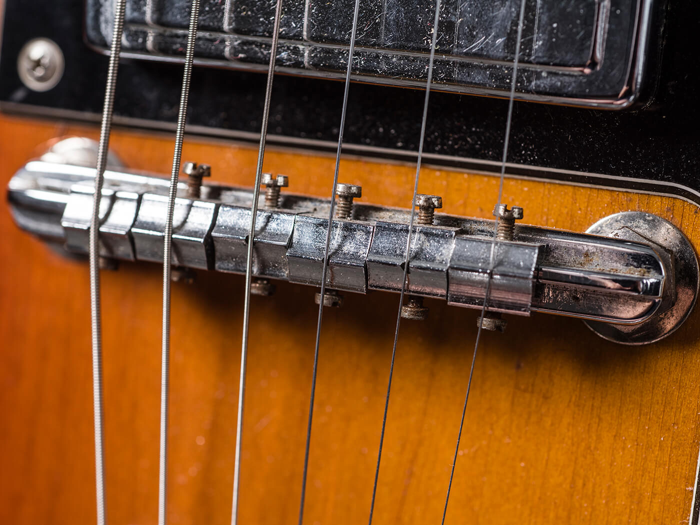 Gary Gand 1960s Guild Thunderbird (Bridge)