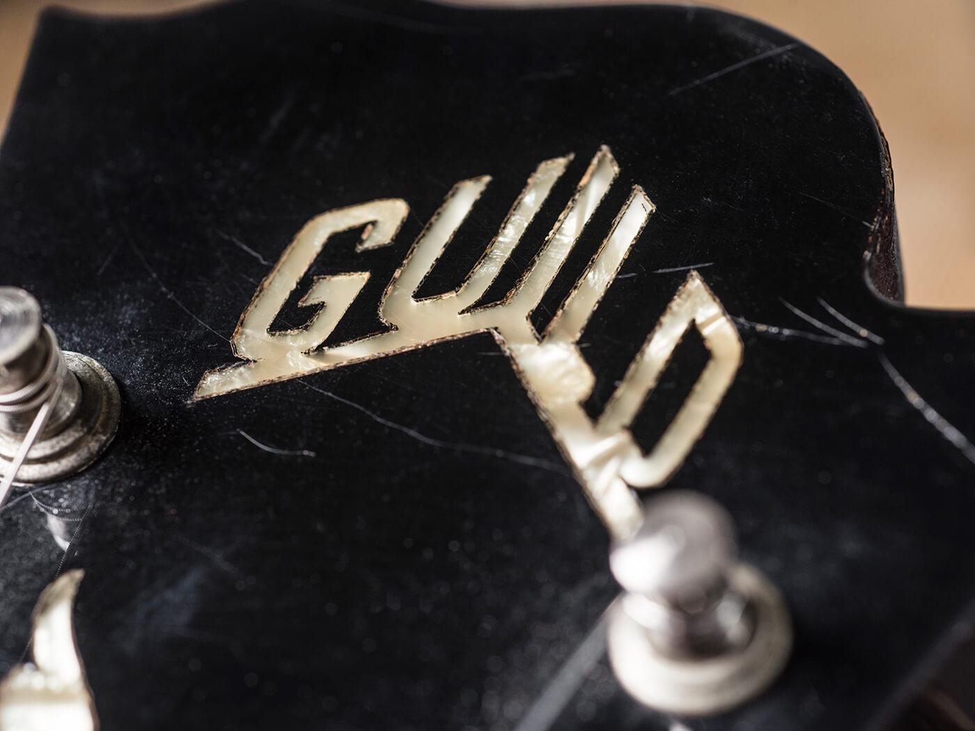 Gary Gand 1960s Guild Thunderbird (Headstock)