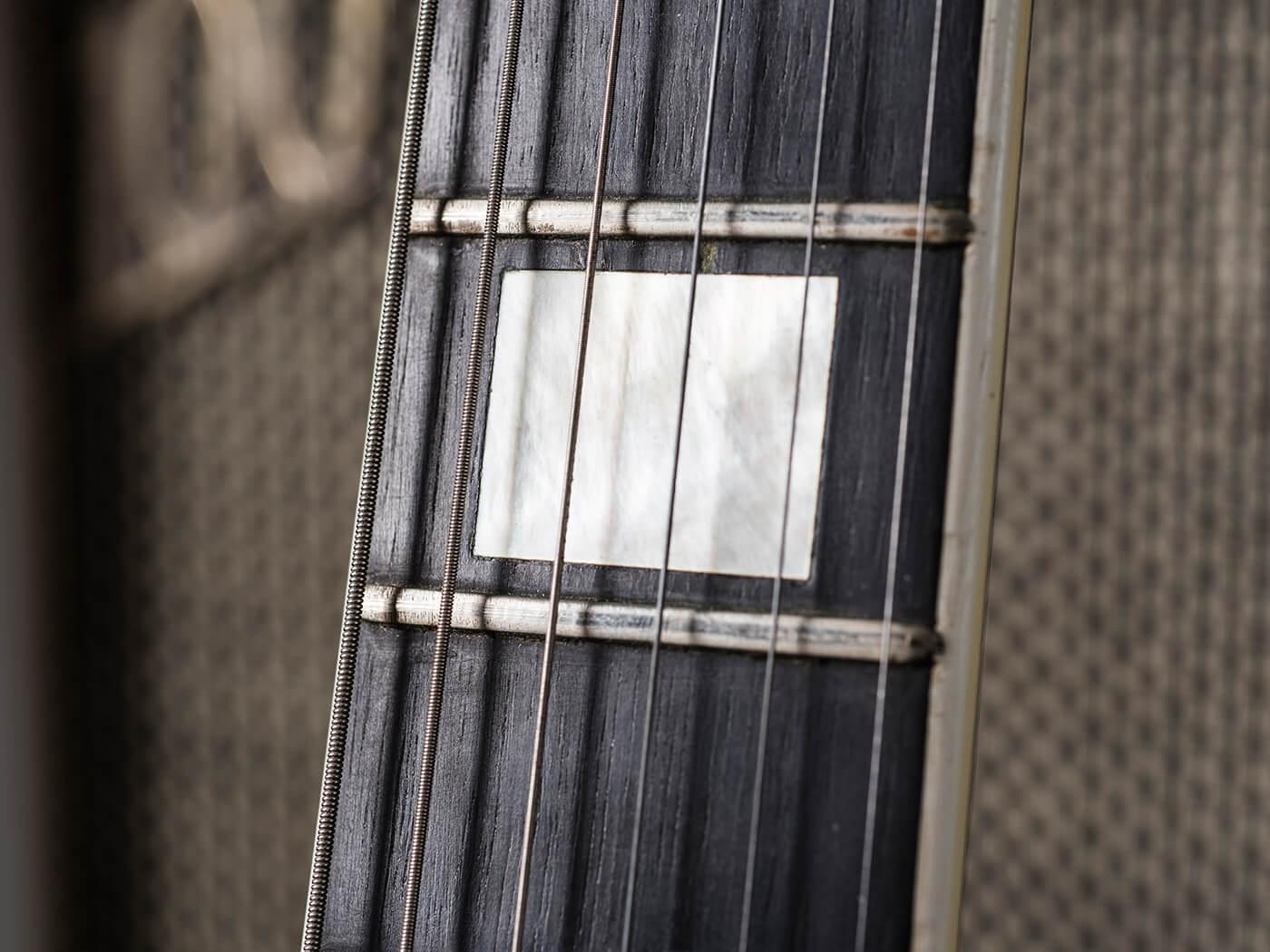 Gary Gand Red 1959 Les Paul Custom (Fretboard)