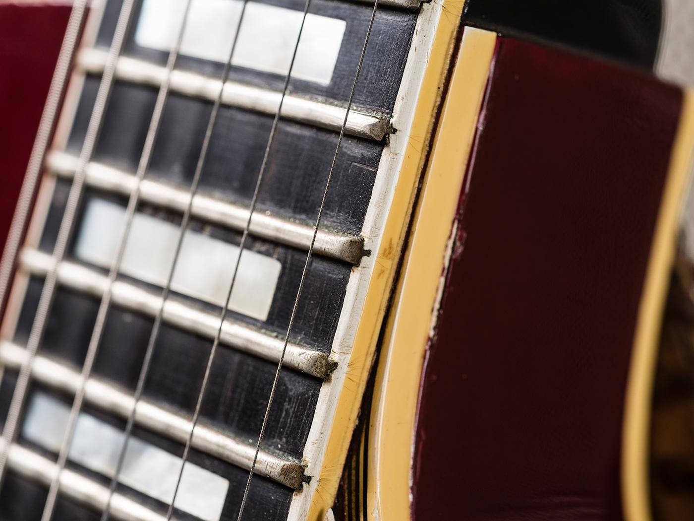 Gary Gand Red 1959 Les Paul Custom (Neck)