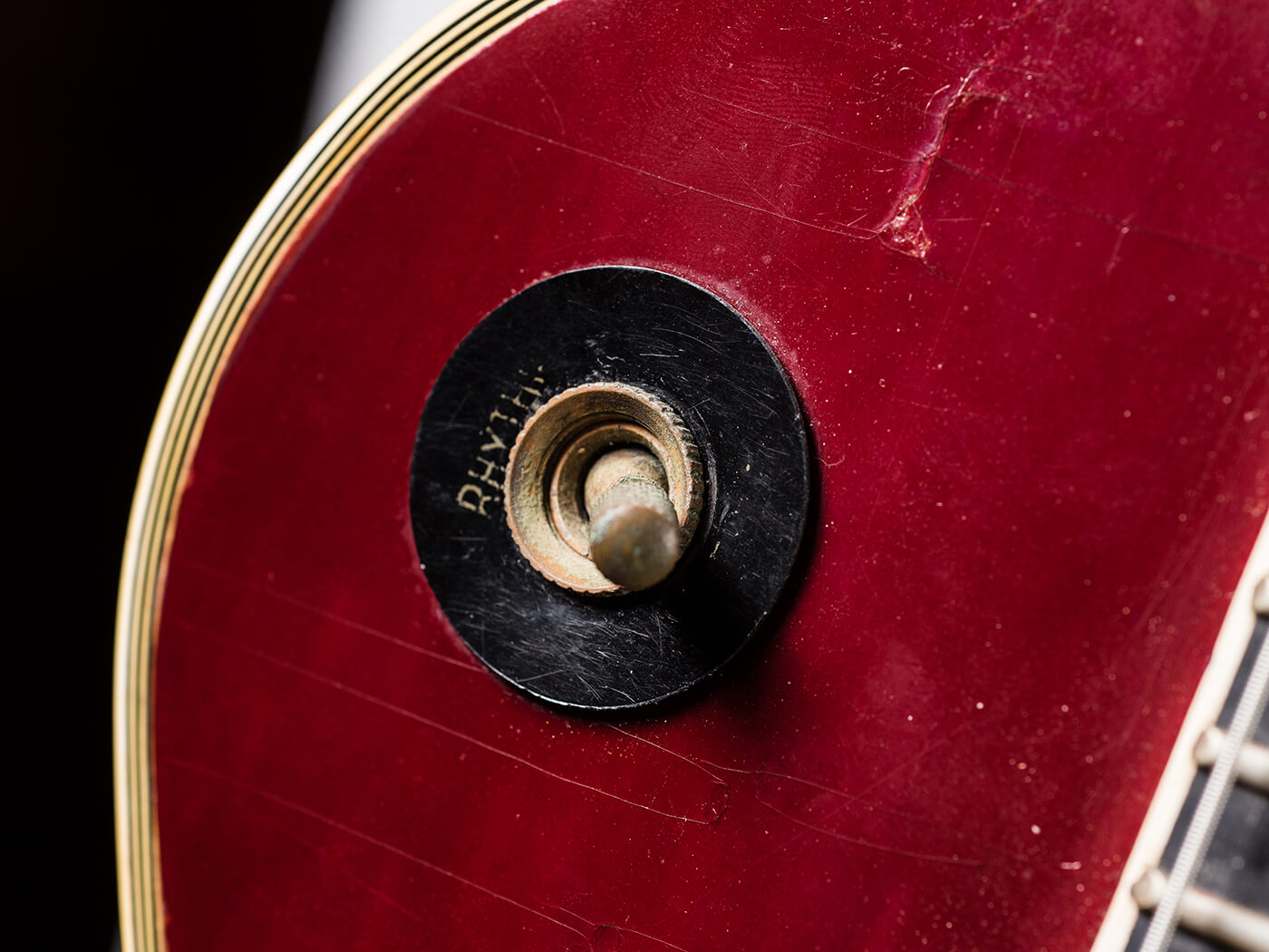 Gary Gand Red 1959 Les Paul Custom (Switch)