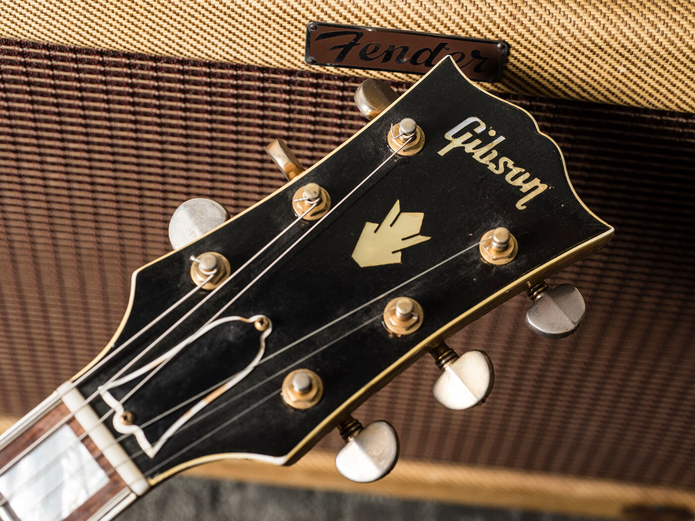 Gary Gand c.1958 Gibson ES-5 Switchmaster (Headstock)