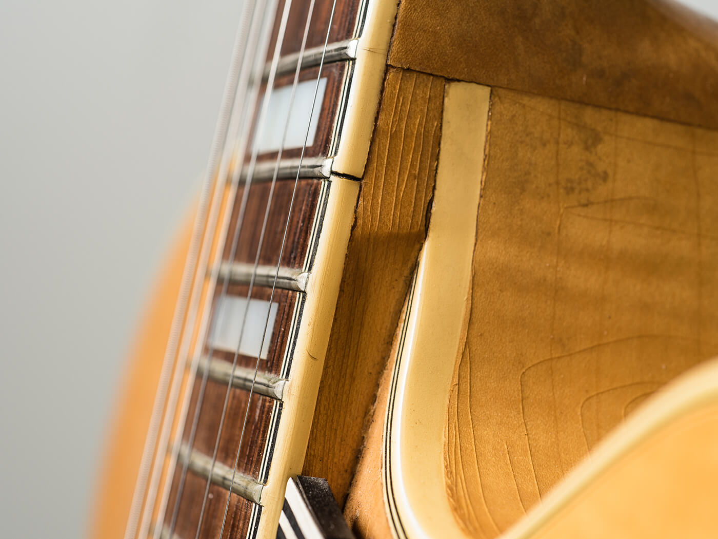 Gary Gand c.1958 Gibson ES-5 Switchmaster (Neck)