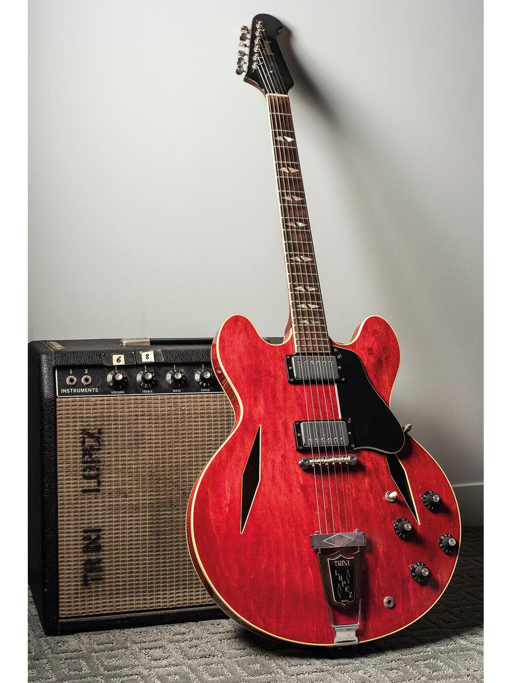 Gary Gand Trini Lopez Guitar w Amp