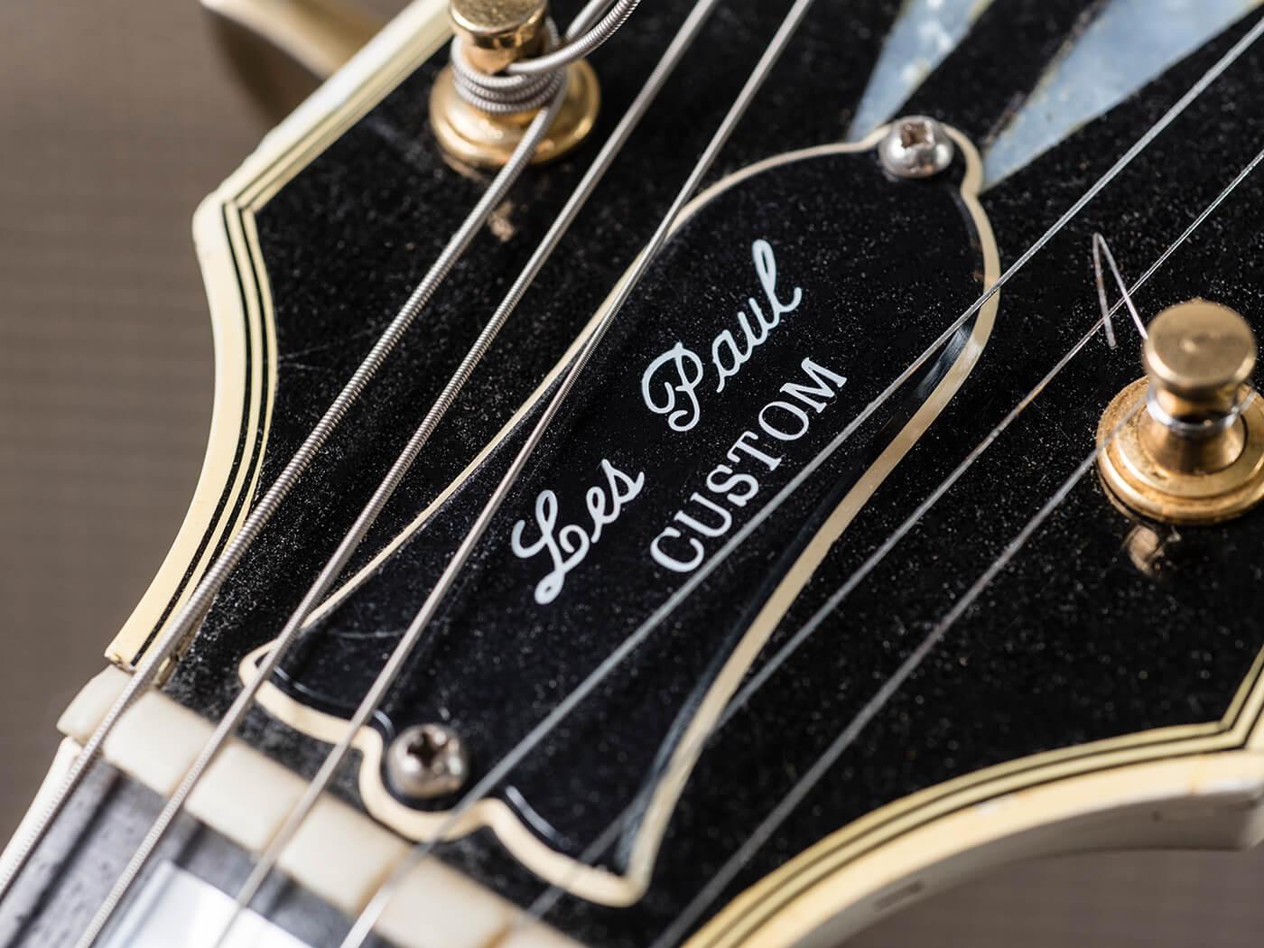 Gary Gand 1964 SG Custom (Headstock)