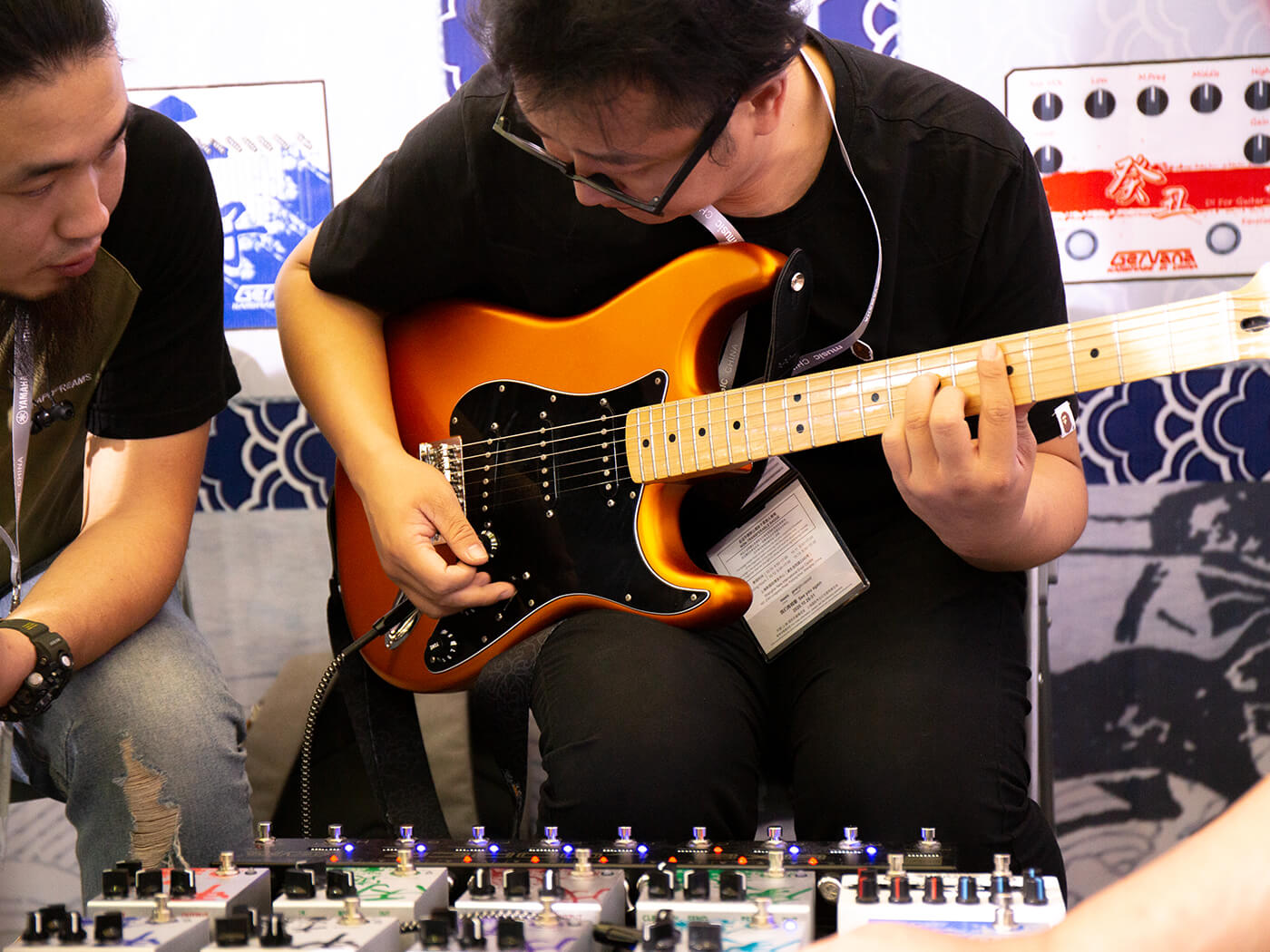 music china 2019 day 4 best guitars amplifiers effects and more all things guitar. Black Bedroom Furniture Sets. Home Design Ideas