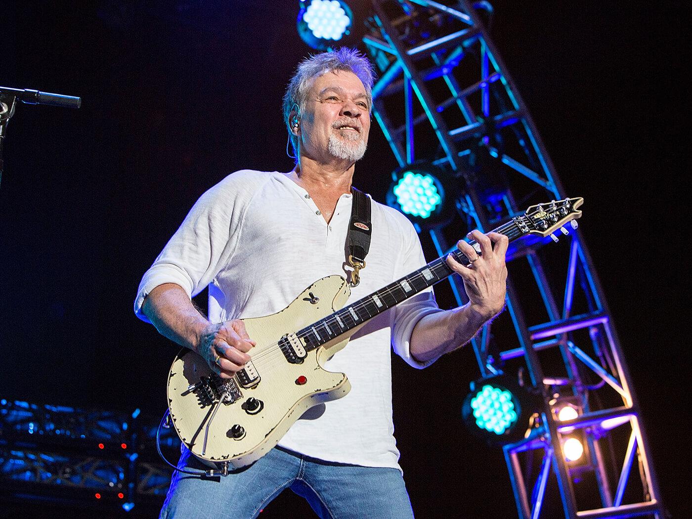 Eddie Van Halen Is Allegedly Battling Cancer Again Guitar Com All Things Guitar