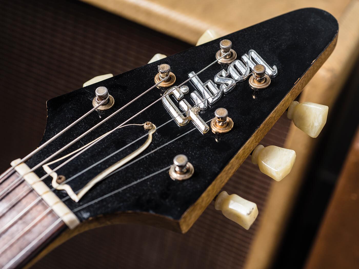 Gibson Flying V (Headstock)