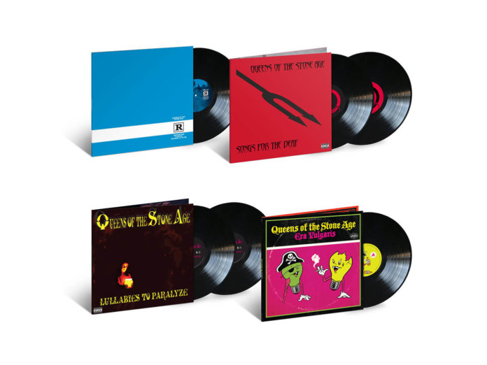 QOTSA's four reissues.